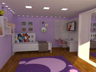 Projetos de Decoração para quarto infantil