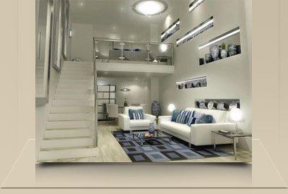 Projetos para loft decorado bh roberta cavina - Decoracion de loft pequenos ...