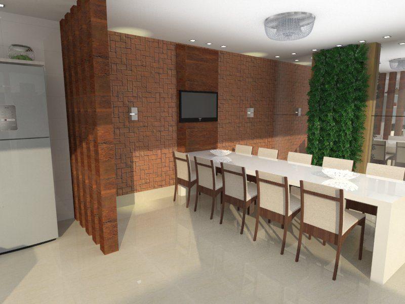 Projeto para Sala de Jantar