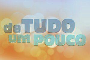 Roberta Cavina participa do programa De Tudo Um Pouco